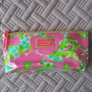 NWOT Lilly Pulitzer Clear PVC  Pouch Cosmetic
